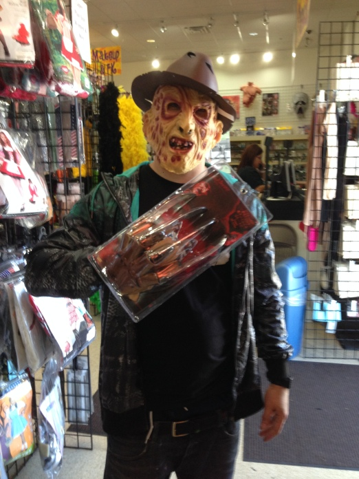 4/15/15 - Las Vegas, NV - DJ Freddy Krueger was born..