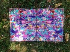 4/20/15: Sacramento, CA - Fremont Park Painting
