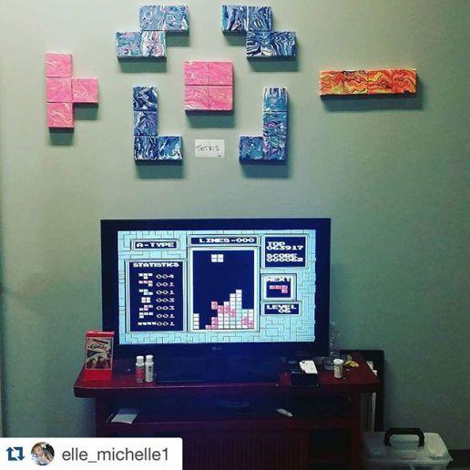 Whew Tetris Set